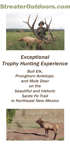 Streater Outdoors – Guided Trophy Elk, Pronghorn Antelope